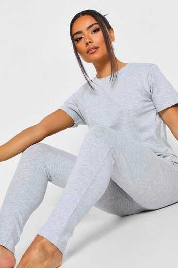 Grey Basic Mix n Match PJ Leggings