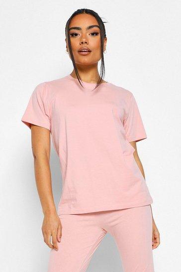 Blush pink Basic Mix n Match PJ Top
