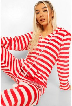 Red Candy Cane Onesie