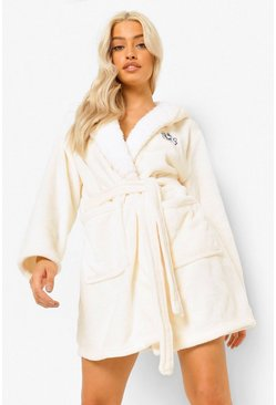 Cream white Disney Marie Dressing Gown