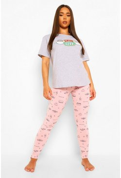Pink Friends Central Perk PJ Legging Set