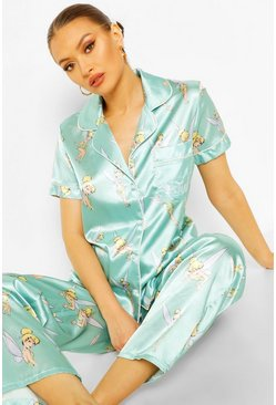 Mint green Disney Tinkerbell PJ Trouser Set