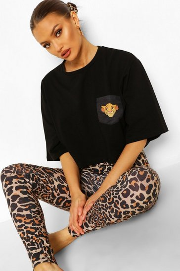 Black Disney Lion King PJ Legging Set