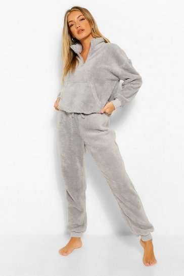 Mix And Match Fleece Lounge Set