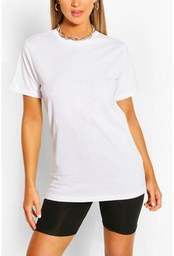 White Soft Lounge Tee