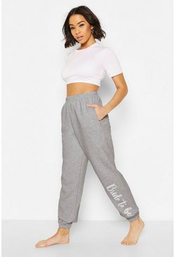 Grey Loopback Bride To Be Joggingbroek