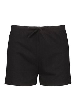 Black Mix and Match Super Soft Lounge Shorts