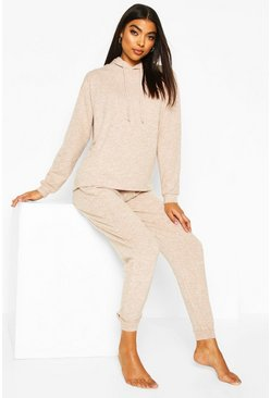 Brushed Jersey Marl Lounge Set