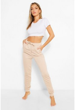 Stone beige Basic Soft Mix and Match Lounge Jogger
