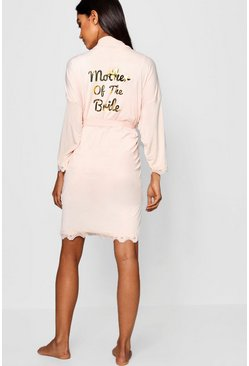 Baby pink Mother Of The Bride Robe