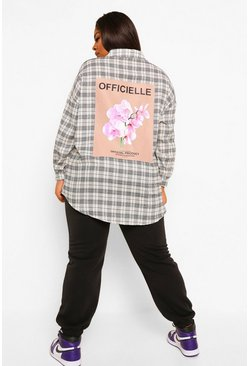 Black Plus Official Flannel Shirt