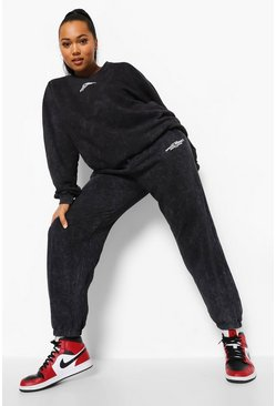 Black Plus Official Sweat Tracksuit