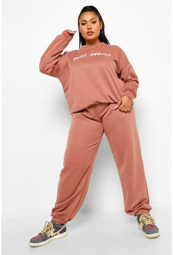 Rose Plus Pure Angels Oversized Tracksuit