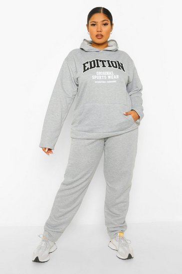 Grey Plus Edition Tracksuit