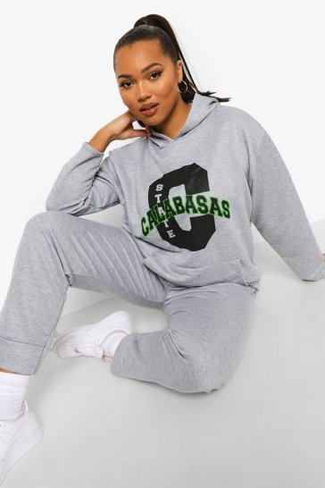 Grey Plus Calabasas Tracksuit