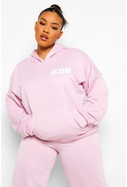 Lilac purple Plus Icon Tracksuit