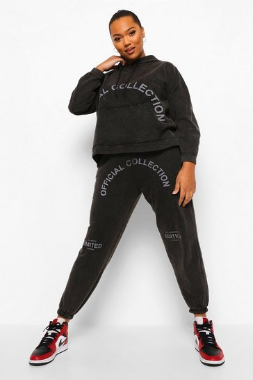 Black Plus Limited Edited Washed Tracksuit