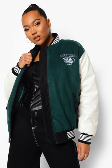 Khaki Plus Official Varsity Jacket