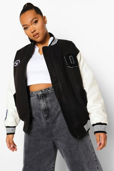 Black Plus Limited Edition Varsity Jacket