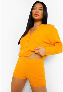 Mango Petite Knitted Crop Co-ord