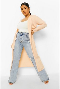 Nude Plus Rib Duster
