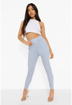 Blue Petite Pastel Wash Denim Jegging