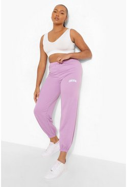 Lilac lila Plus - Staycation Joggers