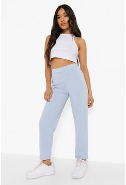 Light blue blue Petite Tailored Trousers