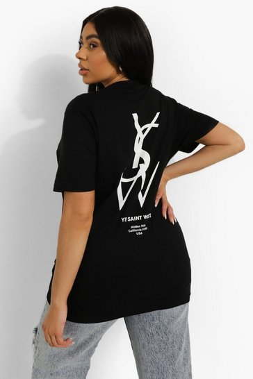 Black Plus Ye Saint West T-Shirt