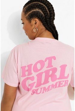 Pink Plus Hot Girl Summer T-shirt