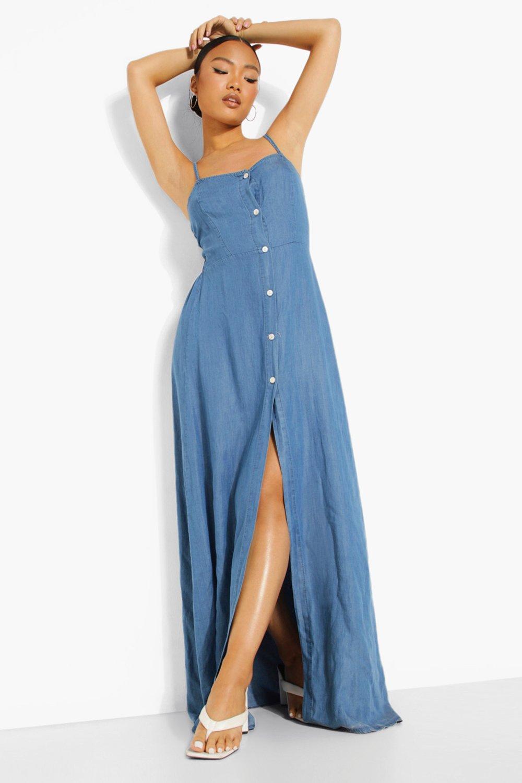 denim maxi dress,denim maxi dress,