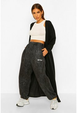 Petite Super Soft Oversized Rib Maxi Cardigan, Black negro