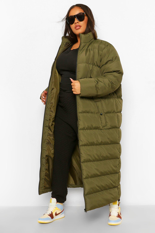 Plus Maxi Puffer Coat 19