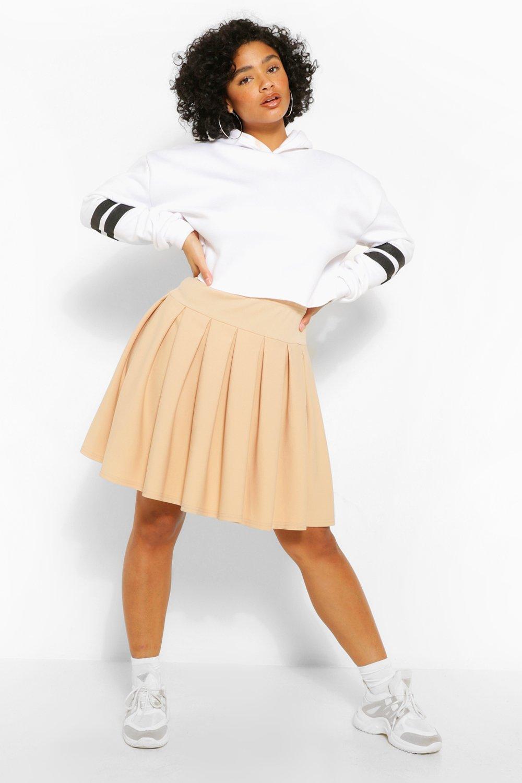 Plus Pleated Tennis Skirt 15