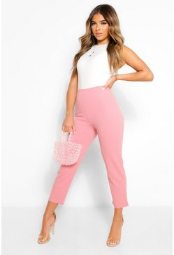 Blush Petite Tailored Trousers