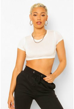 Blackwhite Petite 2 Pack Crop T-Shirt