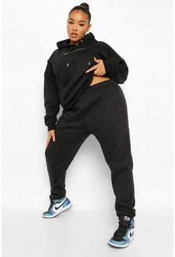 Black Plus Basic Jogger