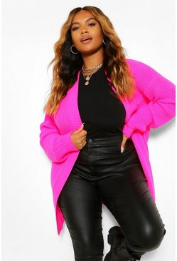 Felroze pink Plus. Edge to edge vest