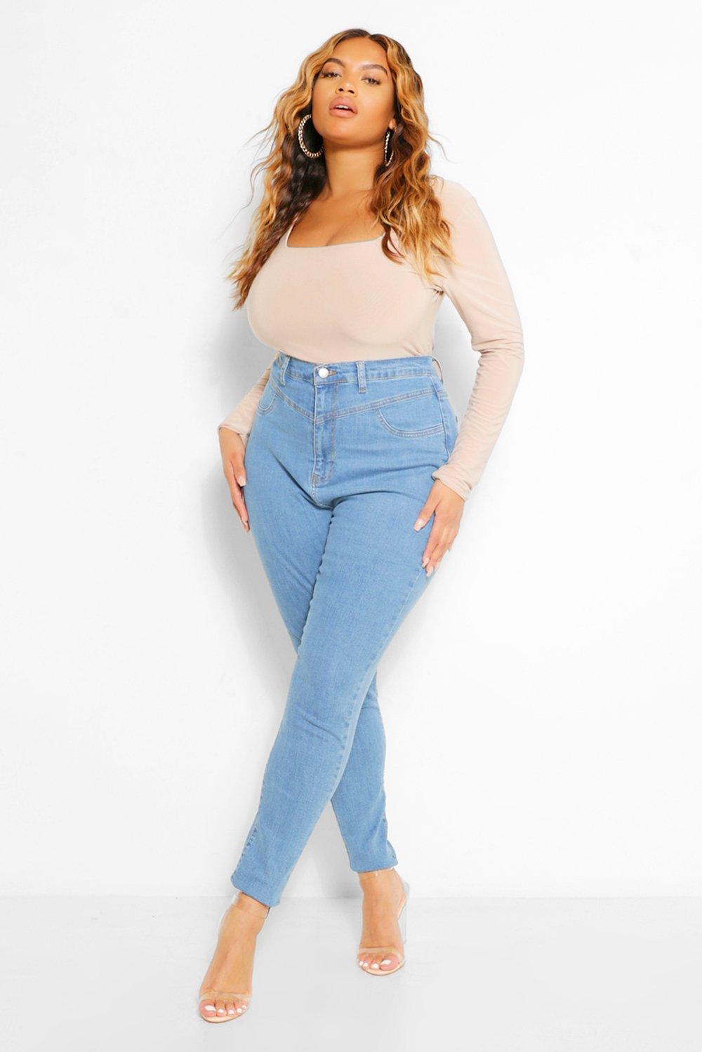 Plus Booty Seam Shaper Skinny Jean 17