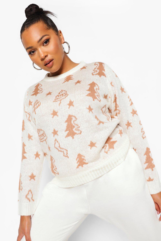 Plus Christmas Tree Sweater 4