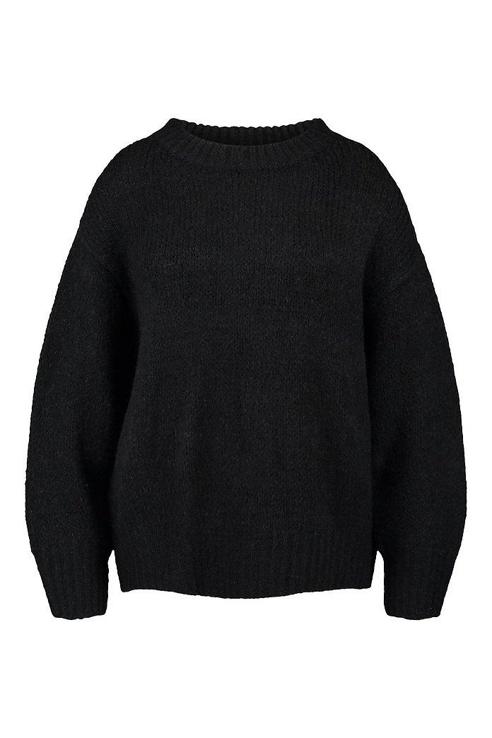 Plus Mjuk stickad tröja i oversizemodell | boohoo SE
