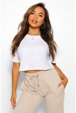 White Petite Basic 2 Pack T-Shirt Set