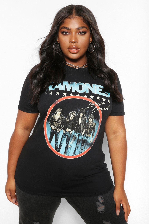 Plus Ramones Band T-Shirt 4