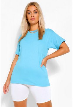 Sky Plus Basic Crew Neck T-Shirt
