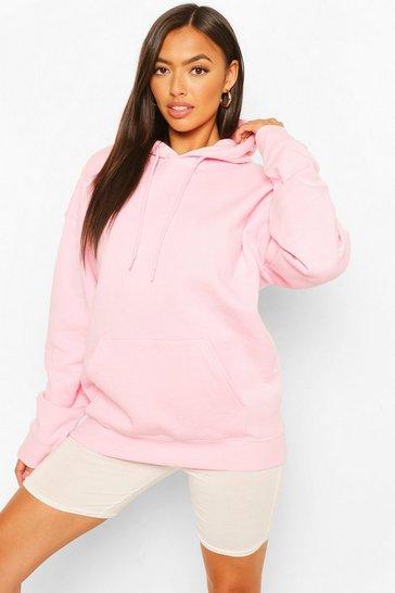 Pink Petite Basic Hoodie