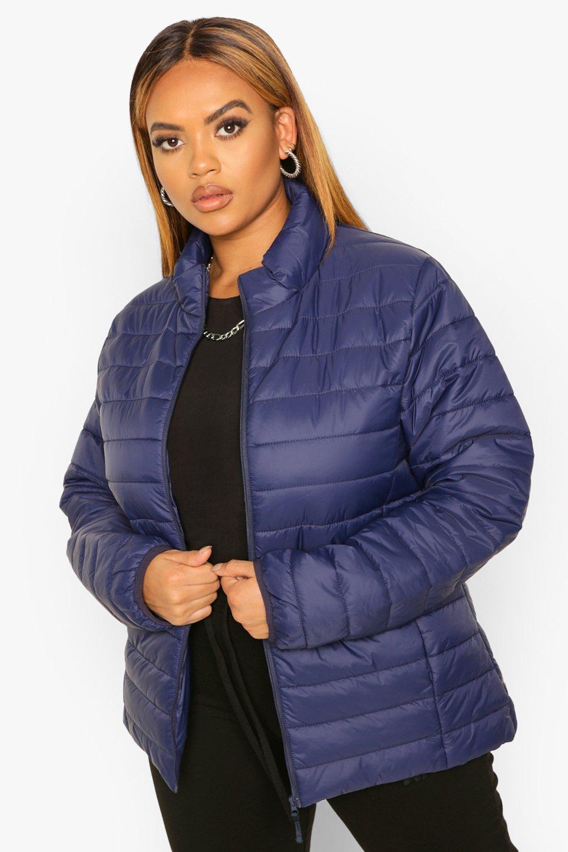 COATS & JACKETS Plus Basic Puffer  Coat