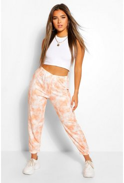 Jogging coupe oversize tie-dye Petite, Orange