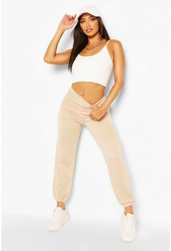 Stone beige Petite Casual Jogger