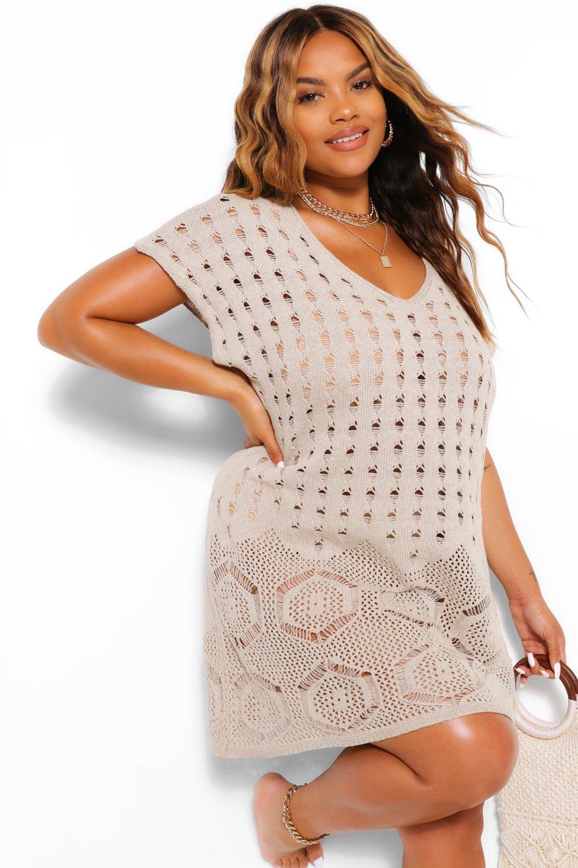 Plus Paisley Tassel Beach Dress 7