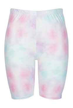 Sky Plus Tie Dye Cycle Short